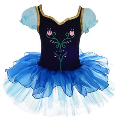 Dressy Daisy Girls' Princess Anna Tulip Ballet Tutus Dancewear Costume